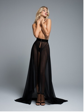 Adore A1058 Wrapped Around You Sheer Skirt