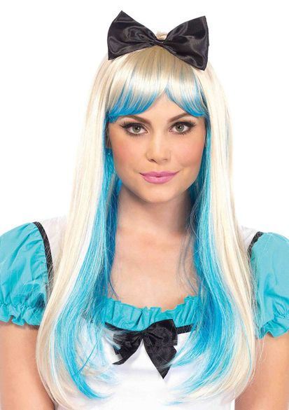 Alice Two-Toned Wig With Bow