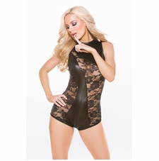 Allure 10-8602K Kitten Lace Wet Look Jumper