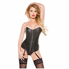 Allure 11-1015 Faux Leather Corset