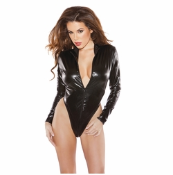 Allure 4-1302K Naughty Spanking Kitten Bodysuit