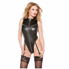 Allure 4-2005 Faux Leather Teddy