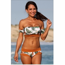 Bali Hai Reversable Surfer Bikini Bathing Suit