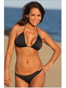 Black Colombian Bikini Bathing Suit