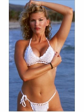 Caribbean Crochet Bikini Bathing Suit