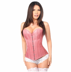 Daisy LV-127 Dusty Rose Brocade Corset