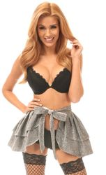 Daisy Corsets Glitter Wrap Skirt Skirt In 7 Colors