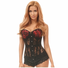 Daisy Sheer Lace Underwire Corset
