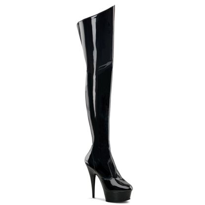 Pleaser Delight-3010 Sexy Thigh High Boots