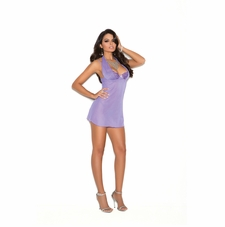 Elegant Moments 4170 Demi Cup Babydoll With G-String