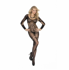 Elegant Moments 1289 Crochet Bodystocking