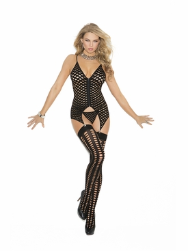 Elegant Moments 1471 Cami, G-String With Stockings