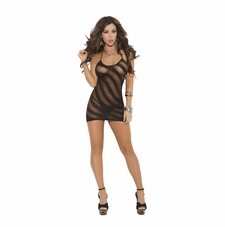Elegant Moments 1475 Opaque Halter Mini Dress