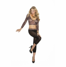 Elegant Moments 1582 Cami Top With Leggings