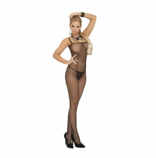 Elegant Moments 1611 Seamless Fishnet Bodystocking