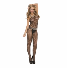 Elegant Moments 1614 Seamless Crochet Bodystocking