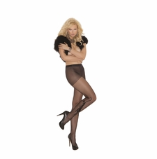 Elegant Moments 1706 Sheer Pantyhose with Tiger Tattoo