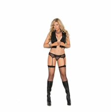 Elegant Moments 1744Q Fishnet Thigh Hi
