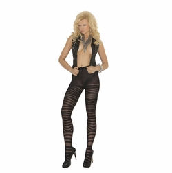 Elegant Moments 1820 Sheer Pantyhose with Zig Zag Print
