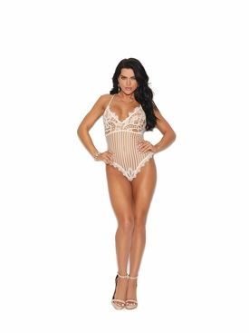 Elegant Moments 77017 Deep V Front Teddy