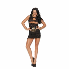 Elegant Moments 82196 Lace Mini dress