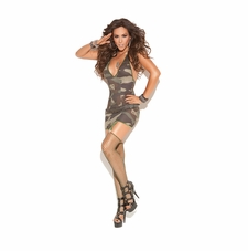 Elegant Moments 8766 Camo Mini Dress