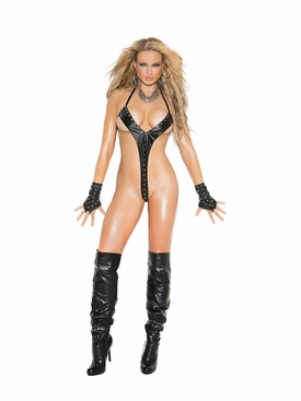 Elegant Moments L2258 Leather String Teddy