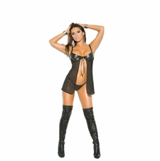 Elegant Moments L4275 Leather Baby Doll