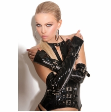 Elegant Moments V9431 Fingerless Vinyl Gloves