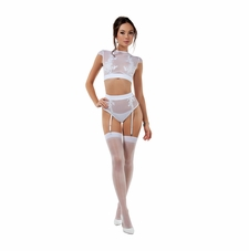 Enticing Two Piece Sheer Set