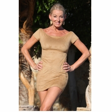Faux Suede Bella Dress