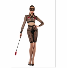 Fetish Fantasy Micro Fishnet Set