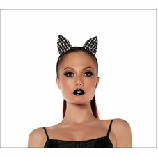Sparkle Kitty Ears Headband