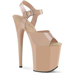 Pleaser Flamingo-808N Ankle Strap Sandal