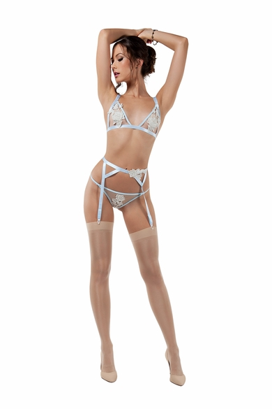Flourish Triangle Bra & Thong Set
