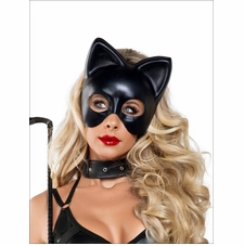 Women's Full Cat Mask Roleplay Costume Accessory