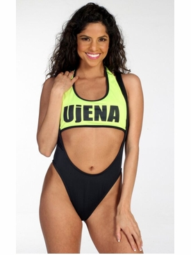 Go Topless One Piece Bathing Suit