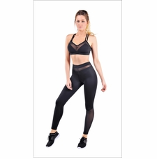 Jersey And Mesh Power Legging Activewear