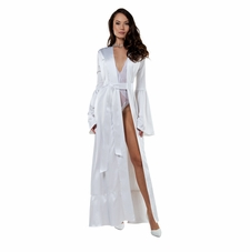 Floor Length Satin Lavish Robe