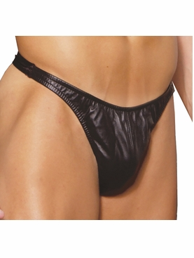 Men's Leather Thong