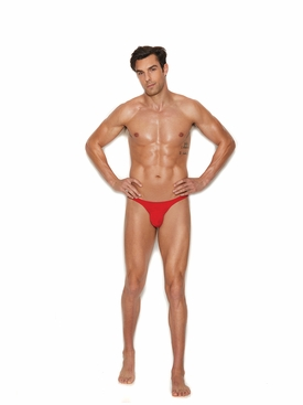 Men's Micro Mini Red Thong