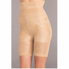 Mid-Thigh Body Shaper With Stay Up Silicone