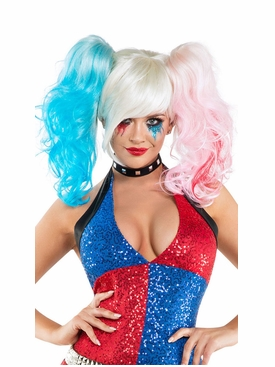 Multi Colored Cosplay Wig