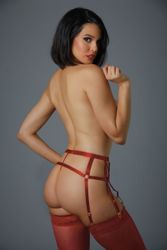Please Me Garter With G-String