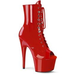 Pleaser Adore-1021 Lace Up Ankle Boots
