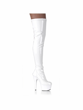 Pleaser Adore-3000 Stripper Thigh High Boot