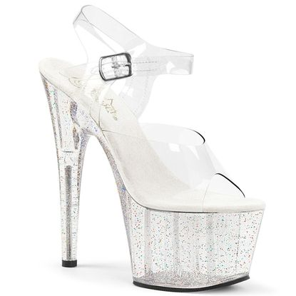 Pleaser Adore-708MG Ankle Strap Sandal