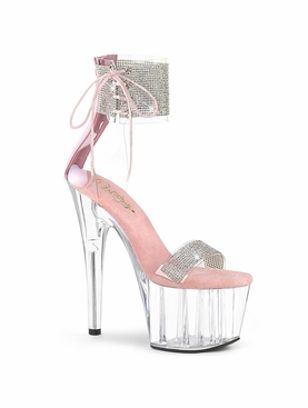 Pleaser Adore-727RS Embellished Ankle Cuff Sandal