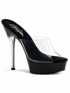 Pleaser Allure-601 Stiletto Heel Platform Slide