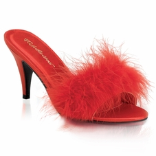 Pleaser Amour-03 Classic Marabou Slipper